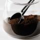 Jahvatatud kohvi anum