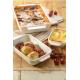5 PC Nesting Ceramic Bakeware Set