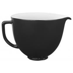 Керамическая чаша  для миксера 4,7L (матовый черный)