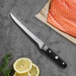 Mėsos išpjaustymo peilis, 17 cm