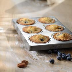 Muffinivormid komplekt, 6-auguga