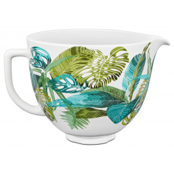 Keramikos dubenėlį 4,7L, Floral