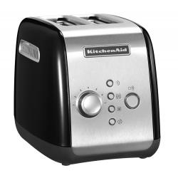 Toaster P2, 2-slice, black