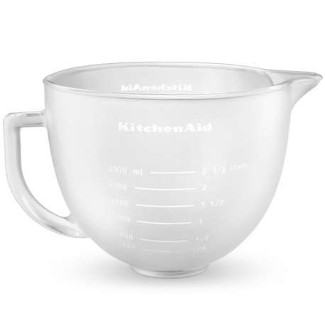 Klaaskauss mikserile 4,83L, matt klaas