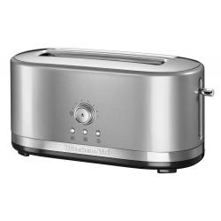 Manual Control Long Slot Toaster / Contour Silver