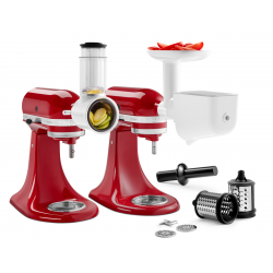 Accessory Set (food grinder, food and vegetable strainer, vegetable slicer and cutter)