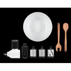 Pjaustymo ir tarkavimo priedas su salotine