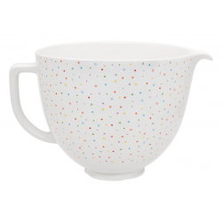 Ceramic bowl for stand mixer 4,7L