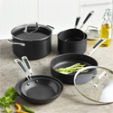 Hard anodized pots and pans
