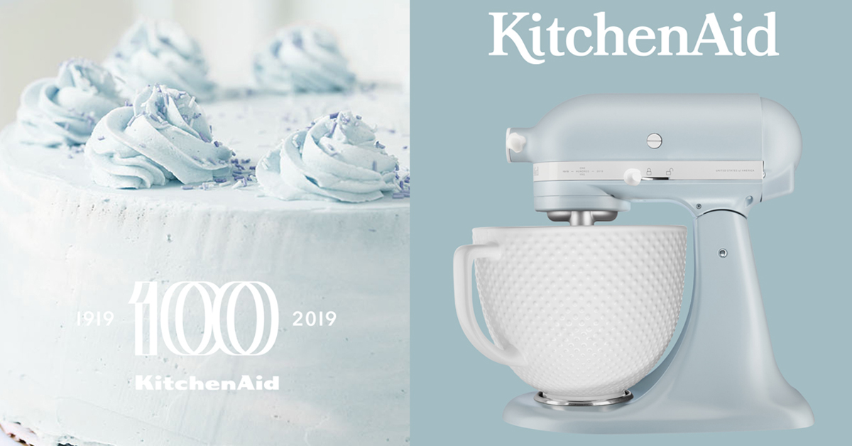 Mixer Artisan 100-year anniversary / Misty Blue